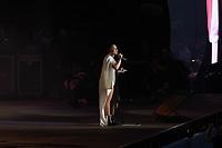 LISBOA, PORTUGAL, 24.06.2018- RIR-LISBOA Demi Lovato durante o seu show no segundo dia do Rock in Rio Lisboa 2018, no Parque da Bela Vista em Lisboa Portugal nesse domingo 24. (Foto: Bruno de Carvalho / Brazil Photo Press)