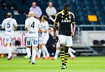 Solna 2015-07-12 Fotboll Allsvenskan AIK - GIF Sundsvall :  <br /> AIK:s Dickson Etuhu deppar under matchen mellan AIK och GIF Sundsvall <br /> (Foto: Kenta J&ouml;nsson) Nyckelord:  AIK Gnaget Friends Arena Allsvenskan GIF Sundsvall Giffarna depp besviken besvikelse sorg ledsen deppig nedst&auml;md uppgiven sad disappointment disappointed dejected