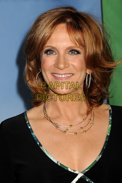 CAROL LEIFER .NBC Universal Press Tour Cocktail Party held at the Langham Hotel, Pasadena, California, USA, 10th January 2010..portrait headshot black necklace hoop earrings .CAP/ADM/BP.©Byron Purvis/AdMedia/Capital Pictures.