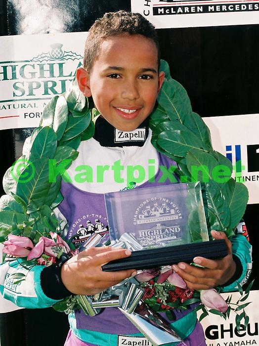 Comer Cadet, PFI, Lewis Hamilton, Karting.