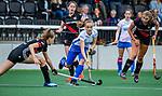 AMSTELVEEN - Eline Jansen.   finale Kampong MB1-Amsterdam MB1. AMSTERDAM MB1 wint de titel Meisjes B. finales A en B jeugd  Nederlands Kampioenschap.  COPYRIGHT KOEN SUYK