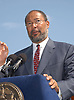 Richard Parsons                                       .at the announcement of a concert by Dave Matthews Band on September 12,2003 in Central Park. Photo by Robin Platzer, Twin Images. The concert will be on Seotember 24, 2003
