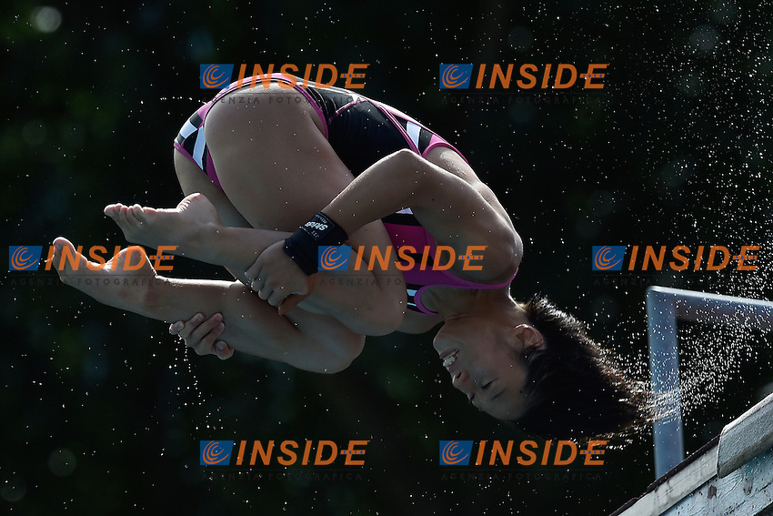 ITAHASHI Minami JPN <br /> Platform women Preliminary - Piattaforma Donne <br /> Bolzano 01-08-2014 <br /> 20 Fina Diving Grand Prix <br /> Photo Andrea Staccioli/Insidefoto