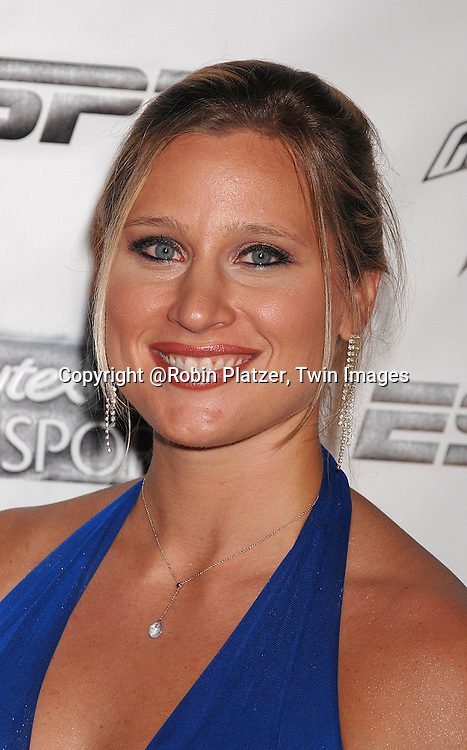 Angela Ruggiero..arriving on the Playtex Sport Pink Carpet at the Women's Sports Foundation's 28th annual Salute to Women in Sports at the Waldorf Astoria Hotel on October 15, 2007. ....photo by Robin Platzer, Twin Images....212-935-0770