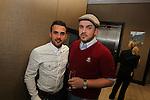 Ty Hafan Celebrity Chef.Anthony Obaid & Jay Page.Maldron Hotel.26.09.12.©Steve Pope