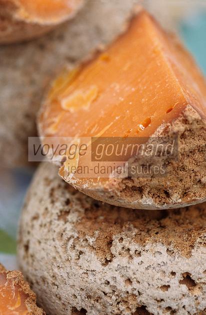 Europe/France/Nord-Pas-de-Calais/59/Nord/Lille: Vieille mimolette de Lille sur le marché Sébastopol