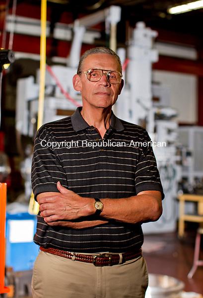 Barkhamstead, CT- 21, July 2010-072110CM13 President of Sterling Engineering Corporation, John Lavieri inside his factory in Barkhamstead.   --Christopher Massa Republican-American