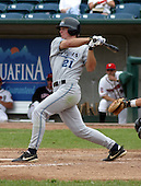 August 31, 2003:  Outfielder Brent Clevlen of the West Michigan White Caps, Class-A affiliate of the Detroit Tigers, during a Midwest League game at Oldsmobile Park in Lansing, MI.  Photo by:  Mike Janes/Four Seam Images