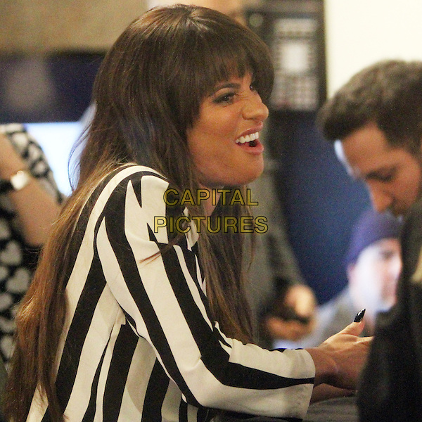 NEW YORK, NY - MARCH 4: Lea Michele signs her new CD 'Louder' at the Sony Store in New York City on March 4, 2014. <br /> CAP/MPI/RW<br /> &copy;RW/ MediaPunch/Capital Pictures
