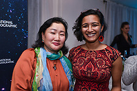 "NEW YORK - NOVEMBER 14: Bolor Minjin and Anusha Shankar attend the National Geographic ""StarTalk: Live from the Beacon Theatre"" taping on November 14, 2018 in New York City. (Photo by Anthony Behar/National Geographic/PictureGroup)"