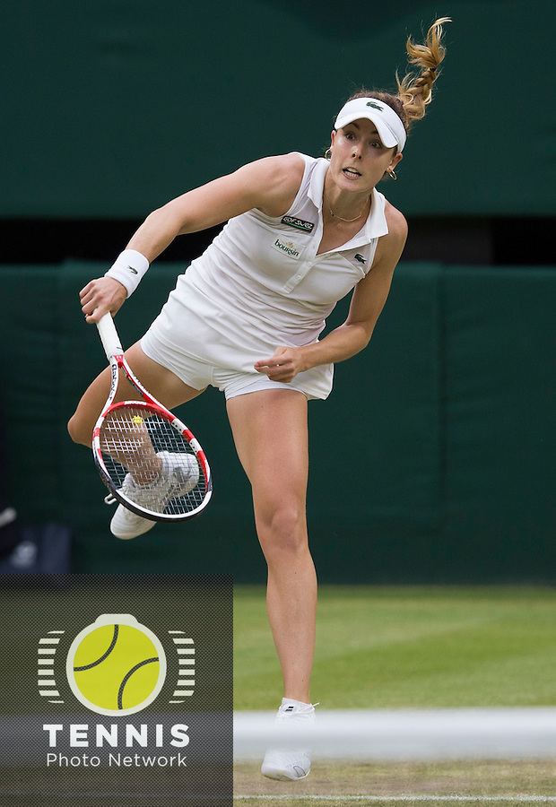 ALIZE CORNET (FRA)<br /> <br /> The Championships Wimbledon 2014 - The All England Lawn Tennis Club -  London - UK -  ATP - ITF - WTA-2014  - Grand Slam - Great Britain -  30th June 2014. <br /> <br /> © Tennis Photo Network