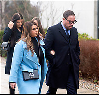 BNPS.co.uk (01202 558833)<br /> Pic:  RogerAborn/BNPS<br /> <br /> Mark Redknapp arriving at Poole Magistrates court with his family today to stand trial for drug driving.