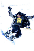 the sport of skateboarding has generated several new sports that have taken off around the world. Snowboarding is just one of them and kids of all ages love to try arobatic  tricks.