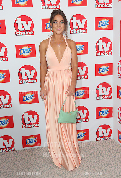 Louise Thompson arriving at The TV Choice Awards 2013 held at the Dorchester, London. 09/09/2013 Picture by: Henry Harris / Featureflash