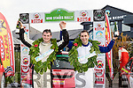 Winners<br /> -----------<br /> Killarneys Shane Buckley, Rt, successfully guided Bantry rally driver Danial Cronin to 1st overall in last Sundays Kerry motor clubs Winter stages rally, based and sponsored by Banna resort hotel
