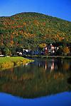 PA landscapes, town and lake, Galton,Potter Co., PA