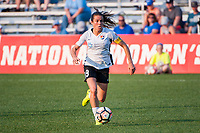 Kansas City, MO - Wednesday August 16, 2017: Kelley O'Hara during a regular season National Women's Soccer League (NWSL) match between FC Kansas City and Sky Blue FC at Children's Mercy Victory Field.