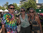 Dean Sweigart, Sheryl Laguna and Laurel Sweigart during Artown's Opening Night in Reno on Saturday, July 1, 2017.
