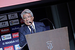 Atletico de Madrid's President Enrique Cerezo. August 13, 2018. (ALTERPHOTOS/Acero)