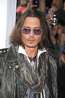 TORONTO, ON - SEPTEMBER 08: Johnny Depp at the 'West Of Memphis' premiere during the 2012 Toronto International Film Festival at the Ryerson Theatre on September 8, 2012 in Toronto, Canada. © mpi01/MediaPunch Inc. /NortePhoto.com<br />