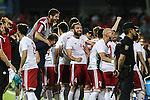 Georgia's players during the up match between Spain and Georgia before the Uefa Euro 2016.  Jun 07,2016. (ALTERPHOTOS/Rodrigo Jimenez)