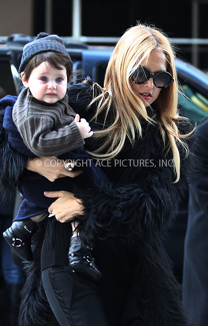 WWW.ACEPIXS.COM . . . . .  ....February 13 2012, New York City....TV personality Rachel Zoe and her son Skyler arrive at a Soho hotel on February 13 2012 in New York City....Please byline: CURTIS MEANS - ACE PICTURES.... *** ***..Ace Pictures, Inc:  ..Philip Vaughan (212) 243-8787 or (646) 769 0430..e-mail: info@acepixs.com..web: http://www.acepixs.com