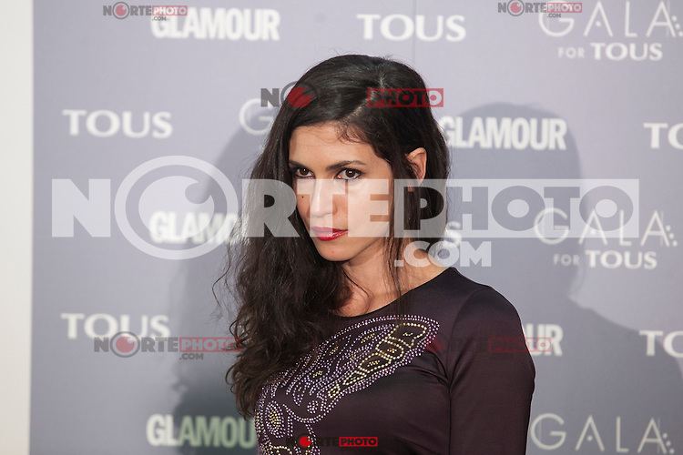 Nerea Barros poses for the photographers during TOUS presentation in Madrid, Spain. January 21, 2015. (ALTERPHOTOS/Victor Blanco) /NortePhoto<br />