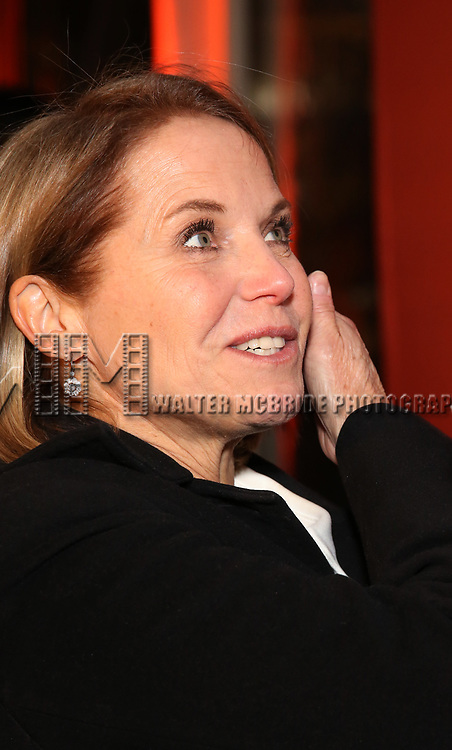 Katie Couric attends the the Broadway Opening Night Performance After Party for 'Lobby Hero' at Bryant Park Grill on March 26, 2018 in New York City.