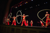 The National Circus and Acrobats of the People&rsquo;s Republic of China performed &ldquo;Peking Dreams&rdquo; in Lee Hall's Bettersworth Auditorium as part of the 2015 Lyceum Series<br />  (photo by Megan Bean / &copy; Mississippi State University)