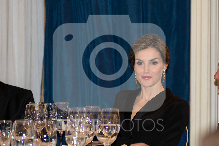 "Queen Letizia attend the delivery of the XXXII edition of the journalism award "" Francisco Cerecedo "" D. Felix Arzua at Ritz Hotel in Madrid, November 25, 2015<br /> (ALTERPHOTOS/BorjaB.Hojas)"