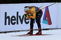 31st December 2019; Dobbiaco, Toblach, South Tyrol, Italy;  FIS Tour de Ski - Cross Country Ski World Cup 2019  in Dobbiaco, Toblach, on December 31, 2019; Antonia Fraebel of Germany finishes in the Womens individual 10km Womens individual 10km