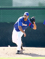Matt Nevarez / Texas Rangers 2008 Instructional League..Photo by:  Bill Mitchell/Four Seam Images