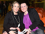 Ciara Carberry and Dara Burke pictured at The Cube in Ardee Parish Centre. Photo:Colin Bell/pressphotos.ie