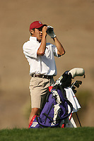 6 November 2007: Daniel Lim during the second round of the Corde Valle Collegiate in San Martin, CA.
