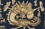 DRAGON IN GOLD ART
