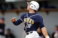 17 April 2010:  FIU's Garrett Wittels (10) bats in the first inning as the FIU Golden Panthers defeated the University of New Orleans Privateers, 6-4, at University Park Stadium in Miami, Florida.