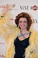 Sofia Loren attends the Rome screening of 'NINE' , at the Auditorium Conciliazione on Wednwsday January 13, 2010 in Rome, Italy.