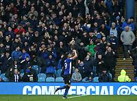 Sheffield Wednesday's Marco Matias celebrates scoring his side's fourth goal <br /> <br /> Photographer David Shipman/CameraSport<br /> <br /> The EFL Sky Bet Championship - Sheffield Wednesday v Blackburn Rovers - Saturday 16th March 2019 - Hillsborough - Sheffield<br /> <br /> World Copyright &copy; 2019 CameraSport. All rights reserved. 43 Linden Ave. Countesthorpe. Leicester. England. LE8 5PG - Tel: +44 (0) 116 277 4147 - admin@camerasport.com - www.camerasport.com
