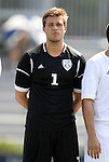 02 September 2012: NC State's Fabian Otte (GER). The North Carolina State University Wolfpack defeated the Santa Clara University Broncos 2-1 at Koskinen Stadium in Durham, North Carolina in a 2012 NCAA Division I Men's Soccer game.