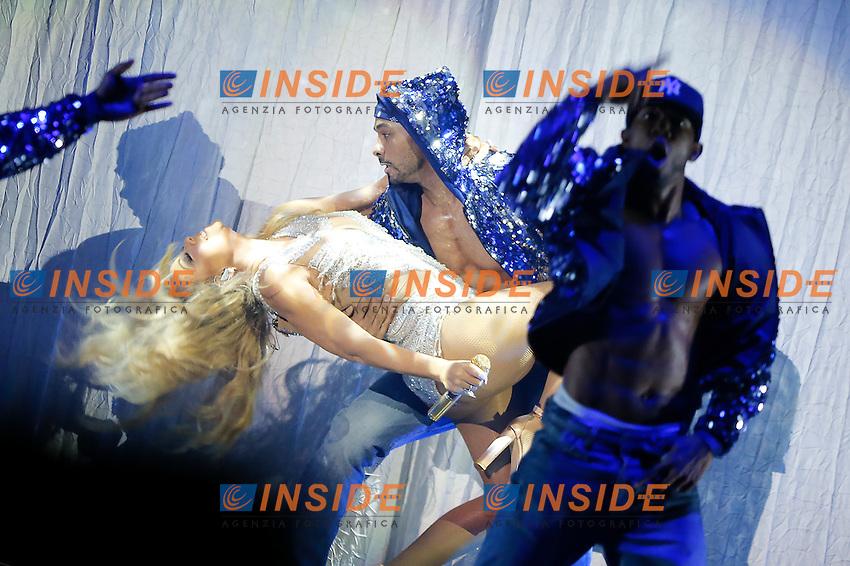 Mariah Carey <br /> Concerto <br /> Parigi - 21/04/2016 <br /> Foto Stephane Allaman / PANORAMIC / Insidefoto
