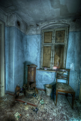 Room in old doctors house.