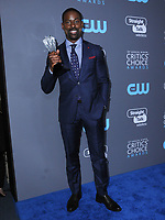 11 January 2018 - Santa Monica, California - Sterling K. Brown. 23rd Annual Critics' Choice Awards held at Barker Hangar. <br /> CAP/ADM/BT<br /> &copy;BT/ADM/Capital Pictures
