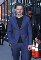 NEW YORK, NY - February 05: Tom Bateman at Build Series promoting Cold Pursuit on February 05, 2019 in New York City. <br /> CAP/MPI/RW<br /> &copy;RW/MPI/Capital Pictures