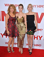 Actresses Lea Thompson &amp; daughters Zoey Deutch &amp; Madelyn Deutch at the world premiere of &quot;Why Him?&quot; at the Regency Bruin Theatre, Westwood. December 17, 2016<br /> Picture: Paul Smith/Featureflash/SilverHub 0208 004 5359/ 07711 972644 Editors@silverhubmedia.com