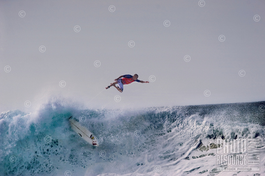 Kelly Slater,11x ASP World Surfing Champion,at2006 Rip Curl Pro Pipe Masters, Banzai PipelineonNorth Shore of Oahu.