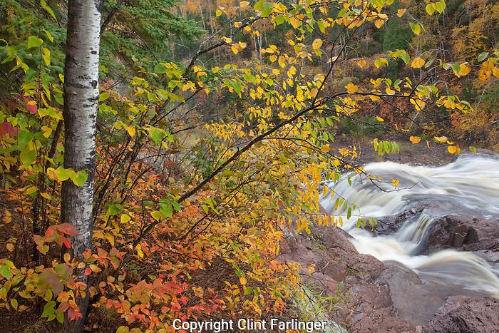 High Falls of the Baptism River, Tettegouche State Park, Minnesota