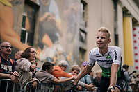 Julien Vermote (BEL/DimensonData) at the Team presentation in La Roche-sur-Yon<br /> <br /> Le Grand D&eacute;part 2018<br /> 105th Tour de France 2018<br /> &copy;kramon