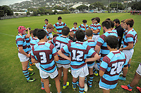 Action from the rugby match between Scots College Invitation XV and Club Atletico del Rosario Under-19s at Evan's Bay Park in Wellington, New Zealand on Wednesday, 28 February 2018. Photo: Dave Lintott / lintottphoto.co.nz