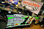 Sep 12, 2009; 9:17:19 PM; Rossburg, OH., USA; The 39th annual running of the World 100 Dirt Late Models racing for the Globe trophy at the Eldora Speedway.  Mandatory Credit: (thesportswire.net)