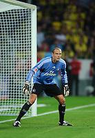 Fussball Bundesliga Saison 2011/2012 1. Spieltag Borussia Dortmund - Hamburger SV Jaroslav DROBNY (HSV) in seinem Tor.